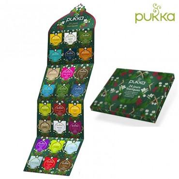 Calendrier de l'avent Pukka