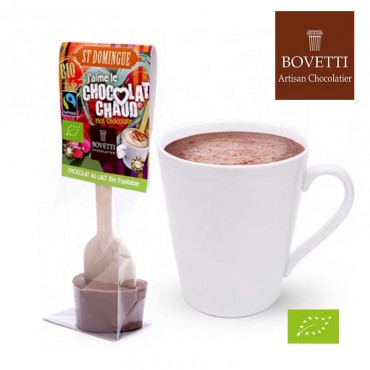Coeur de Chocolat au lait Bio