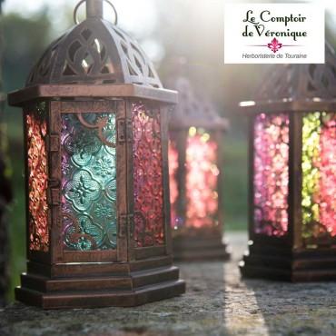 Lanterne orientale colorée...