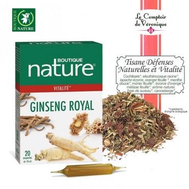 Ginseng Royal +Tisane Vitalité